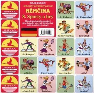 Najdi dvojici - Němčina - 8. Sporty a hry [HRA]